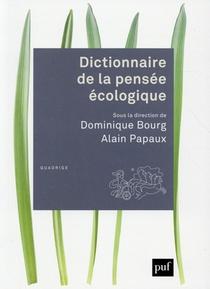 Dictionnaire De La Pensee Ecologique
