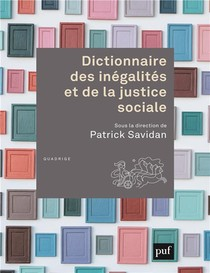 Dictionnaire Des Inegalites Et De La Justice Sociale