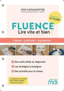 Fluence : 50 Activites Pour Lire Vite Et Bien ! (edition 2021)
