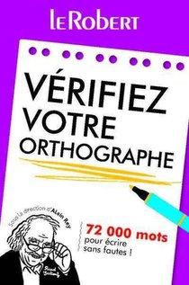 Verifiez Votre Orthographe