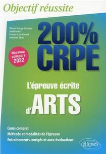 L'epreuve Ecrite D'arts : Nouveau Concours 2022