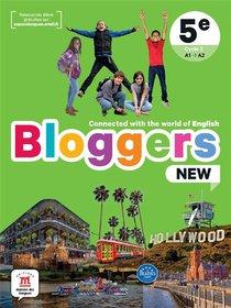 Bloggers New ; Anglais ; 5e ; Livre De L'eleve ; A1>a2