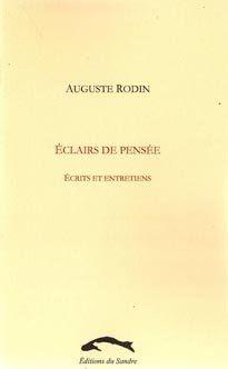 Eclairs De Pensee , Ecrits Et Entretiens