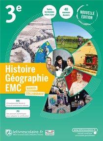 Histoire Geographie 3e, Manuel Eleve, Edition 2021