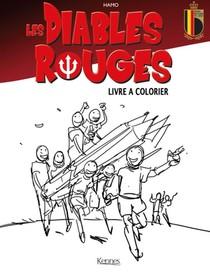 Les Diables Rouges ; Livre De Coloriage
