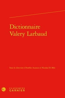 Dictionnaire Valery Larbaud