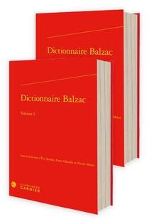 Dictionnaire Balzac