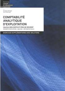 Comptabilite Analytique D Exploitation - Exercices Supplementaires Avec Solutions