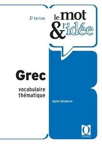 Le Mot Et L'idee ; Grec