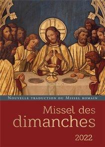 Missel Des Dimanches (edition 2022)