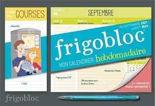 Mini Frigobloc : Mon Calendrier Hebdomadaire 2022 (edition 2022)