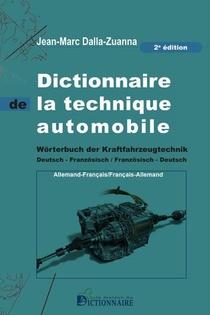 Dictionnaire De La Technique Automobile Francais-allemand/allemand-francais, 2e Edition