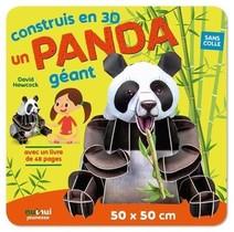 Construis En 3d ; Un Panda Geant