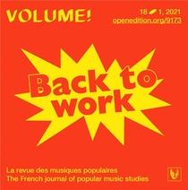 Volume ! N 18-1 - Back To Work