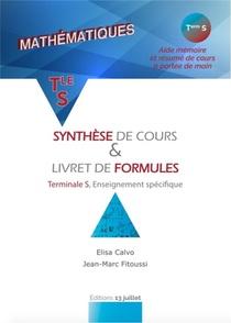 Mathematiques ; Synthese De Cours & Livret De Formules ; Terminale S, Enseignement Specifique