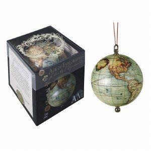 Age of Exploration hangende globe met lint