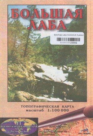 Bolschaja Laba 1:100.000