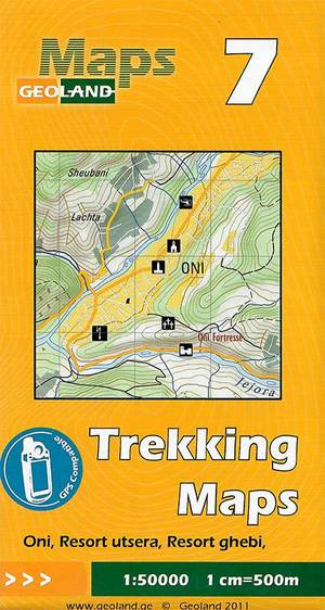 07 Oni, Resort Utsera, Resort Ghebi Trekking Map