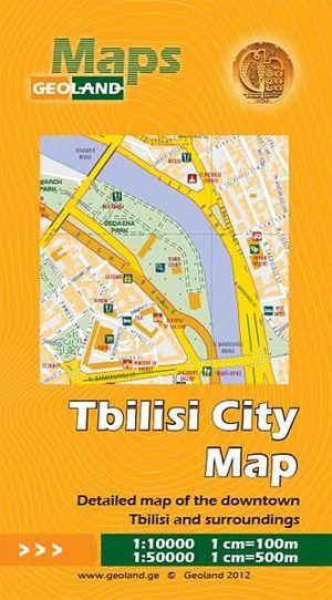 Tbilisi Citymap 1:10d 1:50.000 Geoland