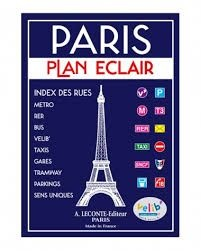 Paris Circulation Leconte Mini Atlas 404