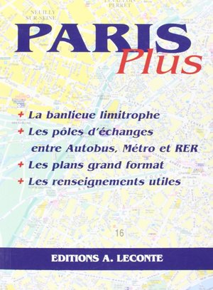 Paris Plus Atlas Leconte Le413