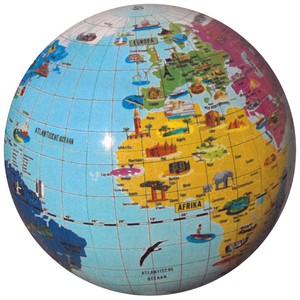 Opblaasbare bol de Wondere wereld - 42cm