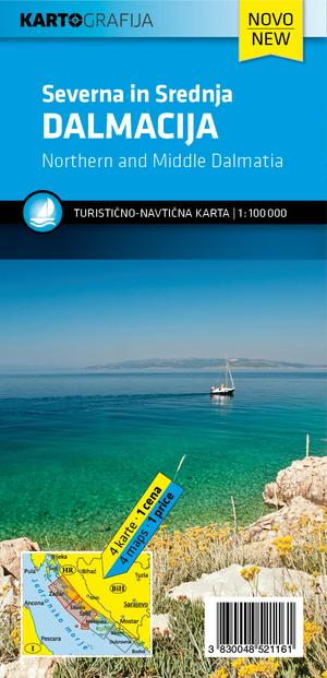 Dalmatia kuststreek Noord - Midden - Zuid