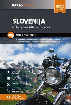 Slowenien - Mottorradtouren - Kartografia 1:270.000