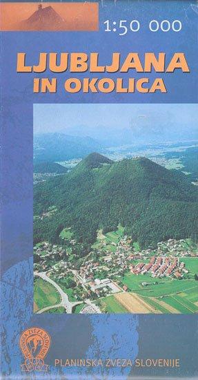 Pzs14 Ljubljana In Okolica - Bergwanderkarte Slowenien 1:50.000