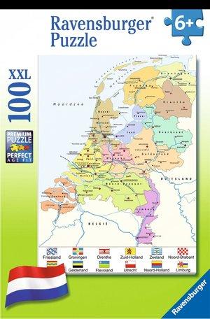 Nederland Puzzle 100 Stukjes 109982 100 Xxl