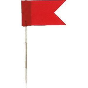 Vlaggenspelden Rood 20st Alco 712