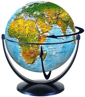 Globe 15 cm phys. swivel & tilt