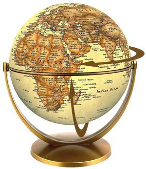 Globe 15 cm antique swivel & tilt