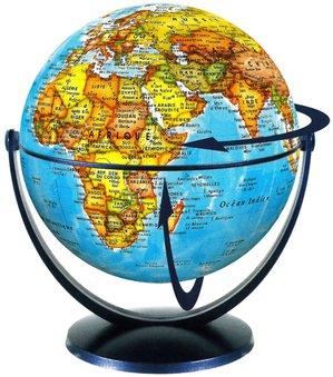 Globe 15 cm pol. tournant & basculant
