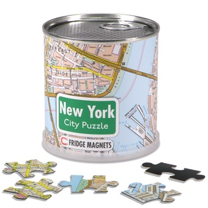 New York city puzzel magnetisch
