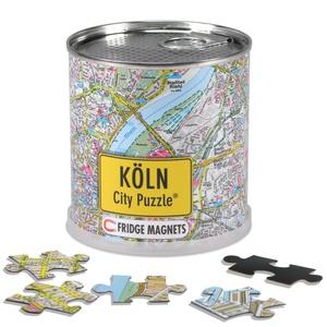 Köln city puzzle magnets