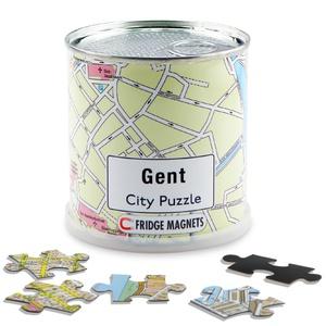 Gent city puzzel magnetisch