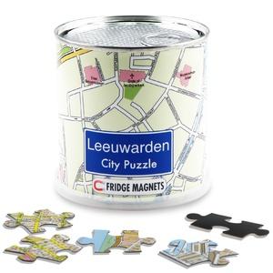 Leeuwarden city puzzel magnetisch