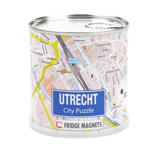 Utrecht city puzzle magnets