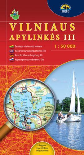 Vilniaus Apylinkes 3 (litouwen) 1:50.000