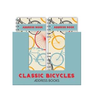 Adresboekje met ringband - classic bicycles