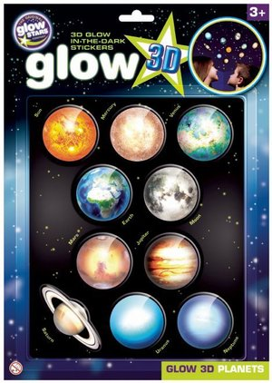 Planets 3d Glow