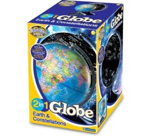 2 In 1 Globe Earth And Constellations