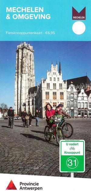 Mechelen Regio 1:65d Fietsknooppunten