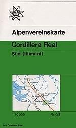 Cordillera Real Sud (illimani) 1:50d