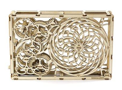 Kinetic picture 3D puzzel