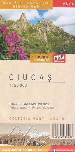 Mn04 Ciucias 1:25.000 Schubert & Franzke
