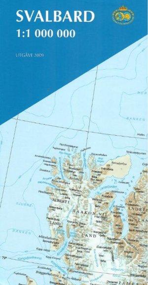 Svalbard Spitzbergen 1:1.000.000