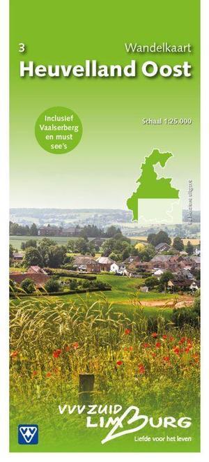 3 Wandelkaart Heuvelland Oost 1:25.000