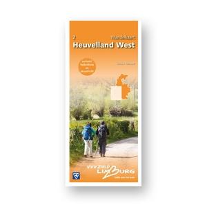 2 Wandelkaart Heuvelland West 1:25.000